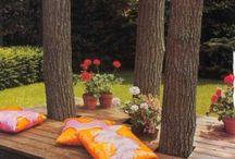 terasa pod stromy