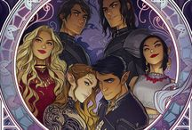 A Court of Thorns and Roses series / ACoTaR, ACoMaF, ACoWaR