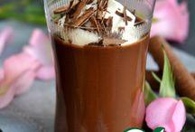 Шоколадно десертный крем