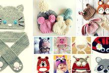 Gorros de Bebé a Crochet