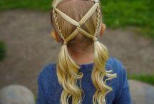 Причёски детские