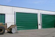 Industrial Inox Doors / Stainless Steel Industrial Closing Systems