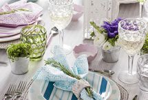 Tablescapes / Beautiful & creative table decoration ideas.