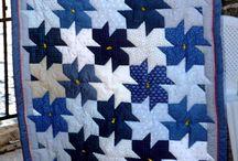 Store og små quilts