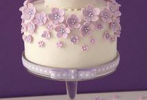 ruzovo-biele torty
