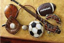 Sports Themed/ Man Cave Ideas / by Nikki Wentzell