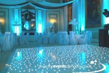 turquoise and silver wedding