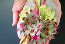 faux stone flower