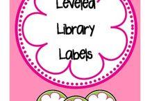 Leveled Bookroom / by Amanda Swerdlow