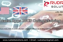 Oracle ASCP Training