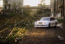 Toyota Mark JZX81 / My car. 1JZ-GE