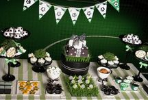 Festa futebol / Ideias para festa com a temática futebol / by Clube da Joaninha ♥♥