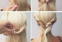 Hair Style Ideas  / Cute hair style ideas!