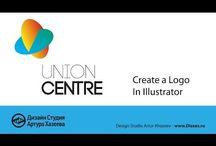 Дизайн процесс создания логотипа