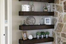 DIY Shelves | Floating | Wall | Inspiration | Ideas / Find the perfect shelves for your home at this. Shop bookshelves, floating shelves, corner shelves, ladder shelves, storage cubes and more.