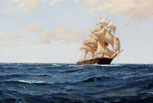 Boats, Harbors and Other Marine Paintings / Boats, Harbors and Other Marine Paintings Featured by Mark Murray Gallery