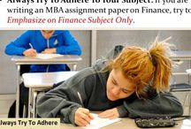 Video for 12 Useful Tips To Write An MBA Assignment Efficiently