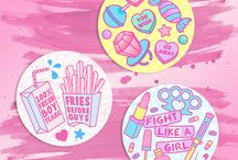Girl Gang Goals / Pretty things about girl gangs and feminism.