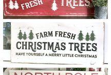 vianočné nápisy