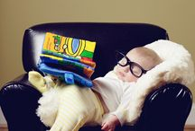 Babies and glasses / Adorable children wearing adorable eyewear