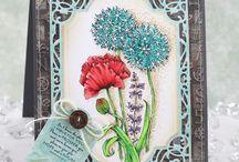 Power Poppy Cards / Handmade Cards