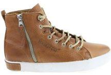 Hoge Sneakers Heren rits of klittenband