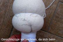 Puppen nähen/Amigurumi