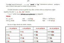 1. Sınıf Türkçe Etkinlikleri
