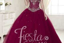Ball gowns for Bubbles 15 quinceanera