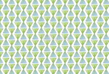 watercolor pattern bluemarine / this is my illustrations on real objects