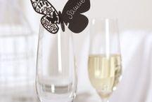 Hochzeitsfarbe Schwarz / Grau / Black is Beautiful - die etwas andere Farbe für die Hochzeitsdeko