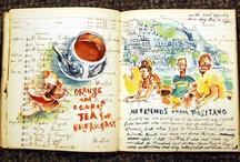 Imaginative @nthology / Art journaling/ Scrapbooking/ Smash booking/ Doodles / by Lilian M. Alvarado Carrasco