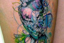 Татуировки В Виде Птицы