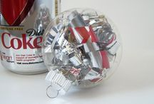 Super Easy DIY Projects! / This board will be for the easiest projects I can find.  Save your cans and use them for Christmas Ornaments, or give them as gag gifts.  Not sure I will hang old beer or soda cans from my tree....but I thought I would post yet another easy project....have fun!