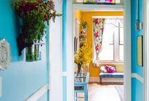 Eclectic house colors