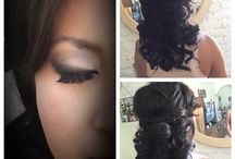 Wedding hair and makeup! / Jana and Co creations for brides and bridal parties