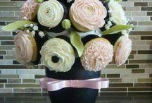 Flower Pots Cupcakes
