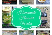 Flavored Water Ideas / Refreshing ideas for water without artificial sweeteners