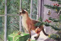All Siamese cats