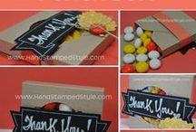 Envelope Punch Board Ideas