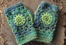 crochet guanti