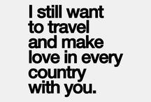 Couple Travel Quotes / Travel quotes to inspire traveling couples