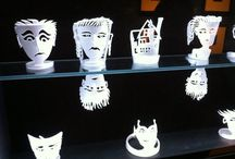 styrofoam sculptures