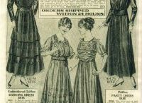платья 1915  год