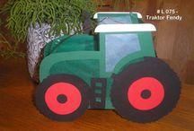 Traktor Laterne
