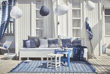 Lounge tuin buiten