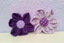 Stoffblumen / Stoffblumen