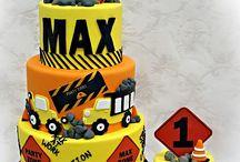Construction Cake Smash