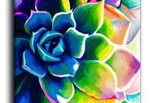 Kukkia ja luontoa