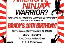 American Ninja Warrior party